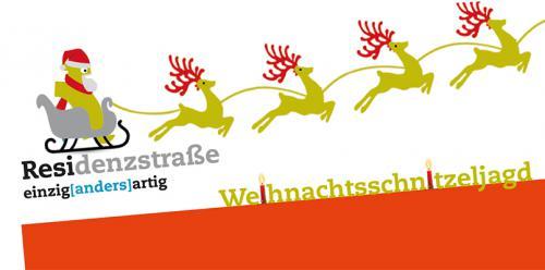 Weihnachtsschnitzeljagd in der Residenzstraße