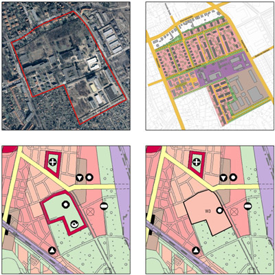 Städtebauliches Konzept Waldowallee/Köpenicker Allee in Berlin-Lichtenberg
