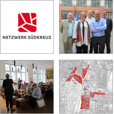 Unternehmensnetzwerk rund um das Gewerbegebiet Südkreuz