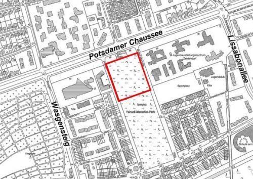 Vorhabenbezogener Bebauungsplan 6-40VE im Bezirk Steglitz-Zehlendorf von Berlin