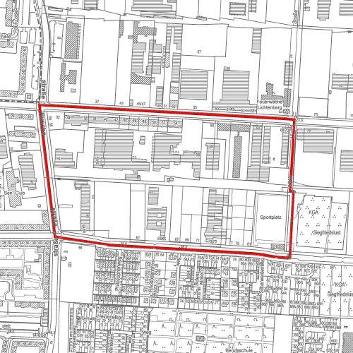 """Bebauungsplan 11-131 """"Gewerbegebiet Josef-Orlopp-Straße"""" im Bezirk Lichtenberg von Berlin"""