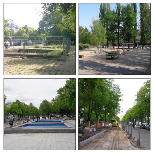Begleitung der Projektbearbeitung von zwei Fördermaßnahmen im Stadtumbaugebiet Friedrichshain West in Berlin