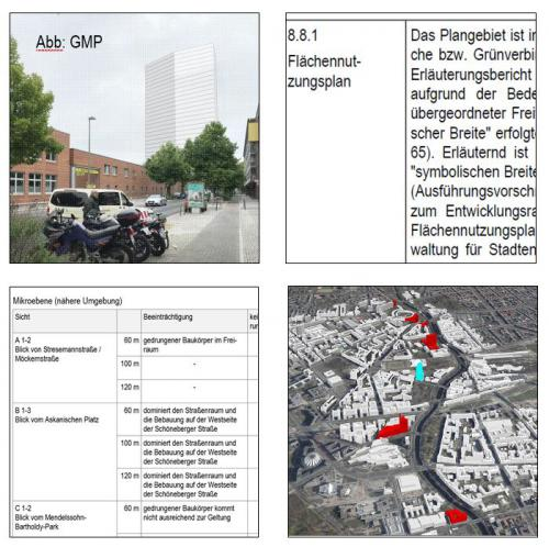 WoHo Kreuzberg - Ein Wohnhochhaus als vertikales Stadtquartier am Mendelssohn-Bartholdy-Park - Gutachterliche Stellungnahme