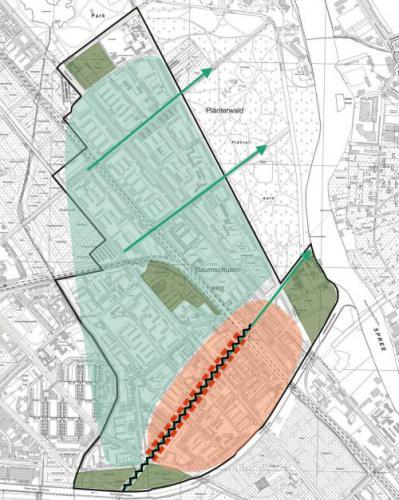 Integriertes städtebauliches Entwicklungskonzept (ISEK) Fördergebiet Baumschulenstraße im Bezirk Treptow-Köpenick